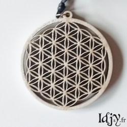 Flower of Life pendant (outline)