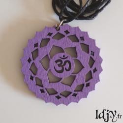 Sahasrara chakra pendant