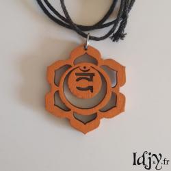 Swadhisthana chakra pendant