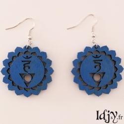 5th chakra Earrings
