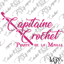 Capitaine Crochet (thermocollant)