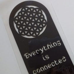 "Bookmark ""Everything is connected"""