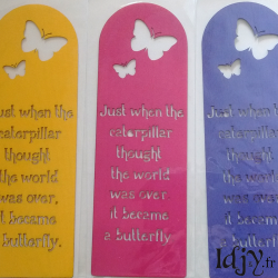 "Bookmark ""Butterfly"""